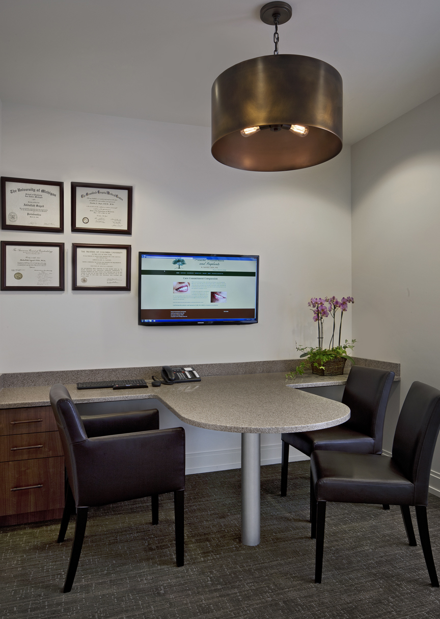 A private, quiet room to talk with your doctors.